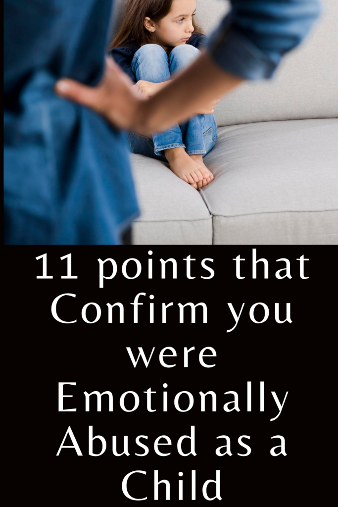 11 points that confirm you were emotionally abused as a child